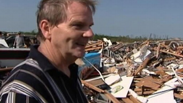 VIDEO: Rance Junge tells ABC News about his harrowing escape from the tornado.