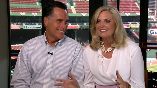 VIDEO: Mitt Romneys wife defends riding with the family dog on the top of their car.