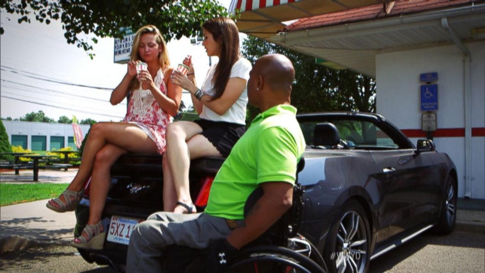 VIDEO: What Would You Do: Two Women Deny Disabled Man A Handicapped Parking Spot