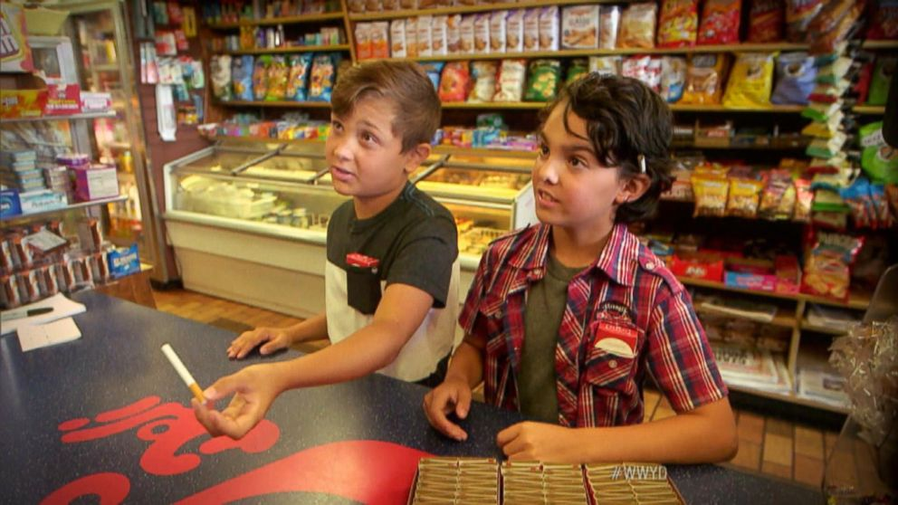 VIDEO: What Would You Do: Underage Children Ask Customers For A Lighter
