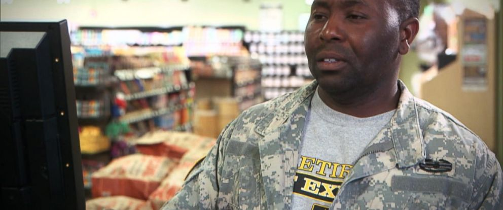VIDEO: What Would You Do: A veteran cannot afford groceries