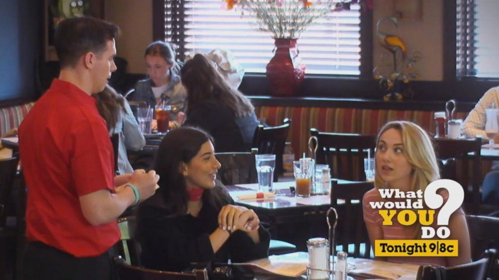 What Would You Do Episode Recap Customers Ridicule Waiter For