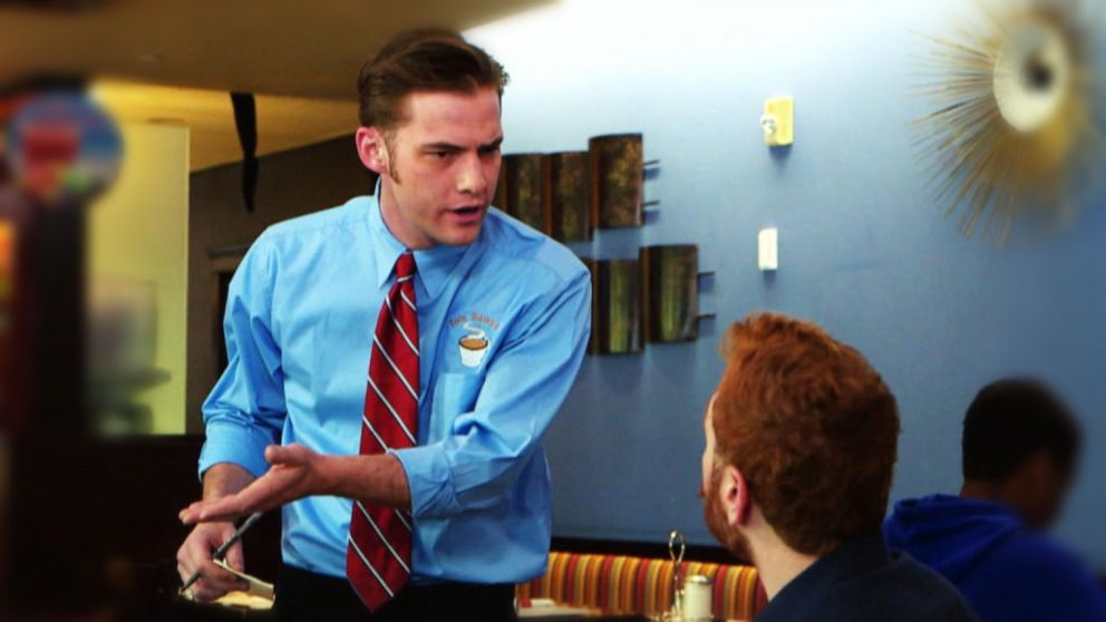 VIDEO: What Would You Do: A waiter is rude and dismissive to a deaf man at a restaurant