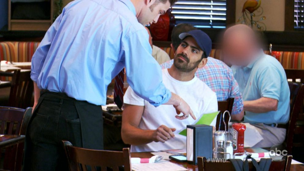 VIDEO: What Would You Do: 'DWTS' winner Nyle DiMarco plays discriminated deaf customer
