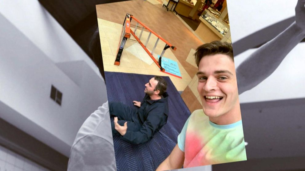 VIDEO: What Would You Do: Teenager takes insensitive selfies next to hurt man
