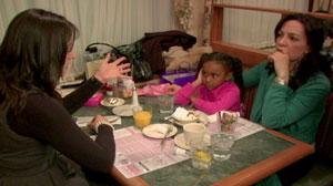 PHOTO What would you do if you saw a woman criticize an interracial adoption?