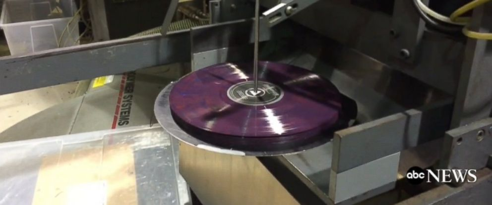 PHOTO: Brooklynphono is one of the last vinyl pressing plants in the country.