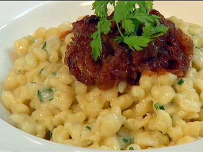 Chefs Table: Spaetzle and Cheese