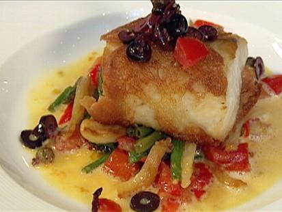 Chefs Table: Ciabatta-Wrapped Sea Bass