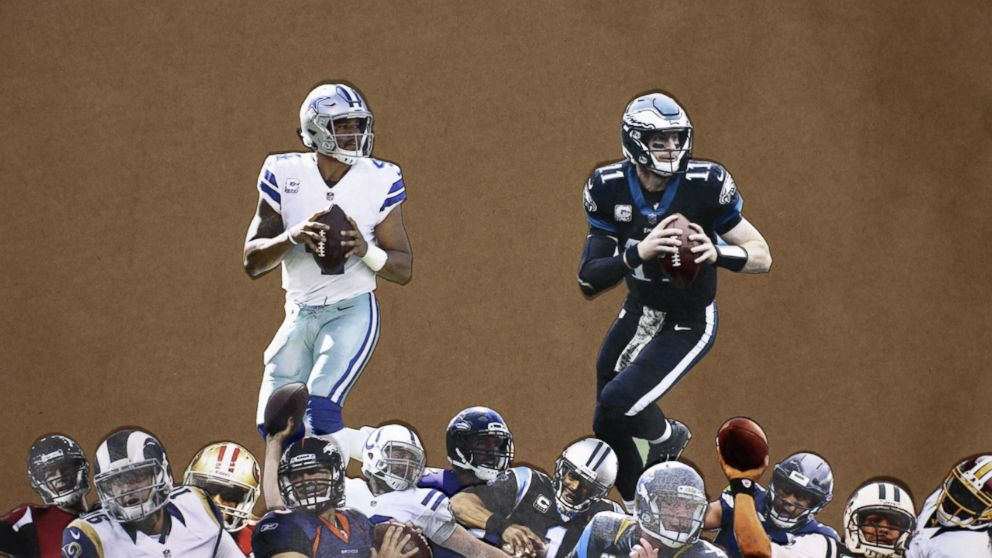 Wentz And Prescott Are The Best Second-Year QBs We've Seen In A While