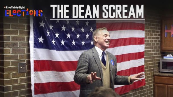 The Dean Scream: What Really Happened | FiveThirtyEight