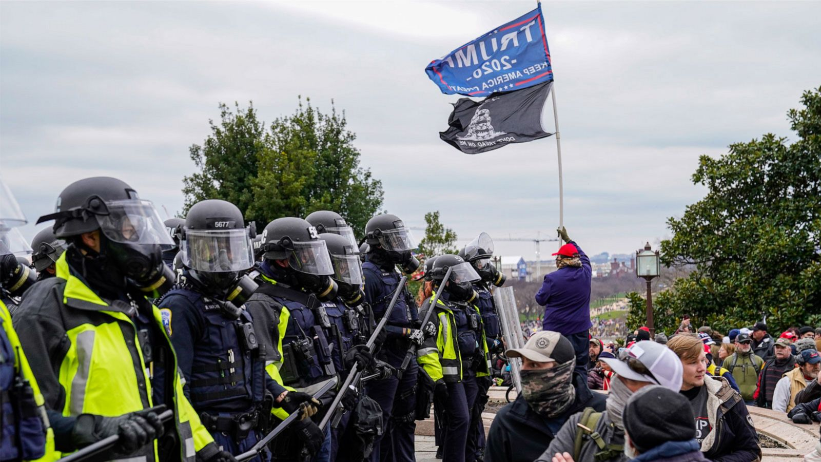Why police aggression is far more pronounced against left-leaning protesters