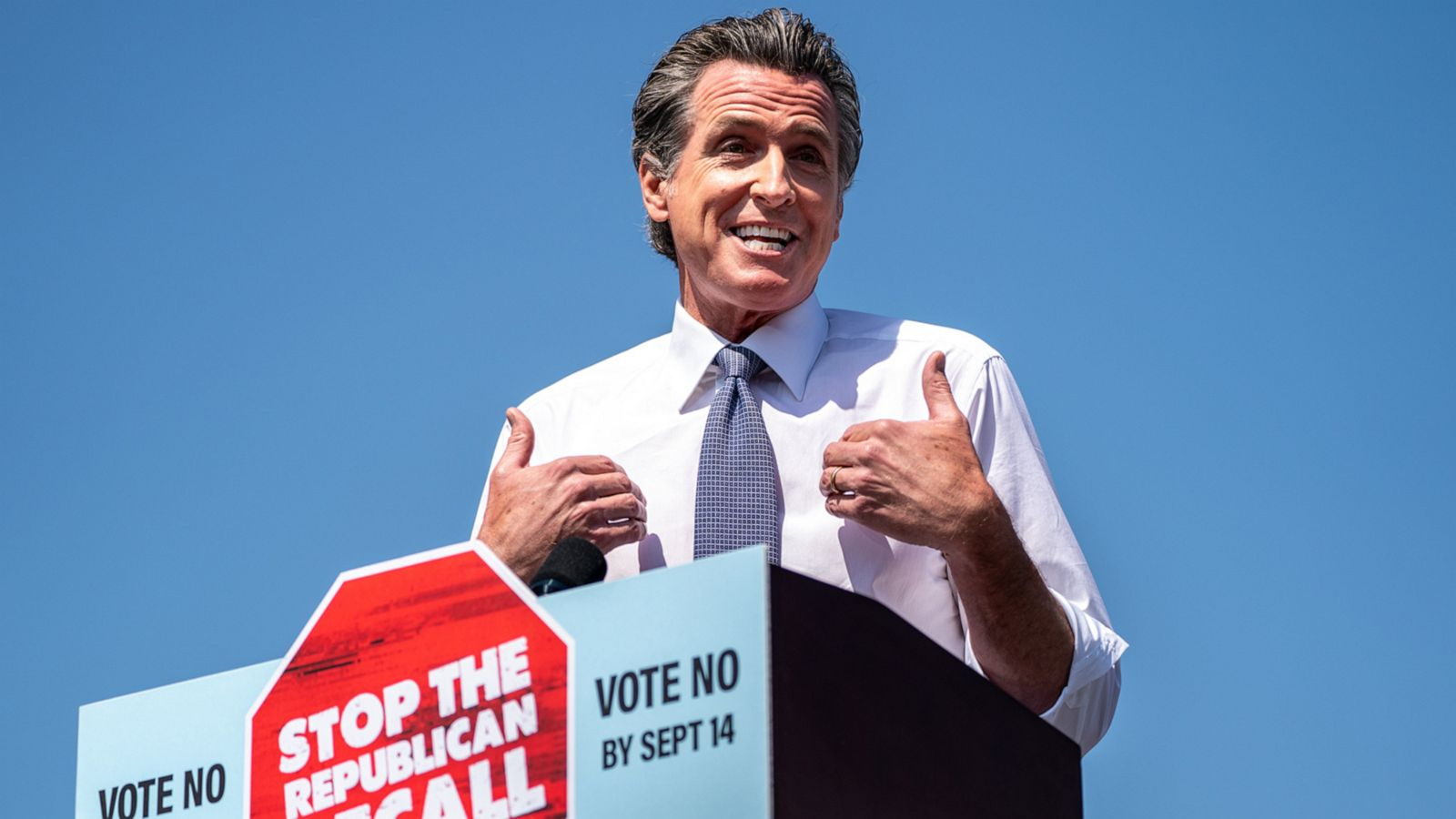 Why it looked like Newsom could lose his job in August (and where polls stand now)