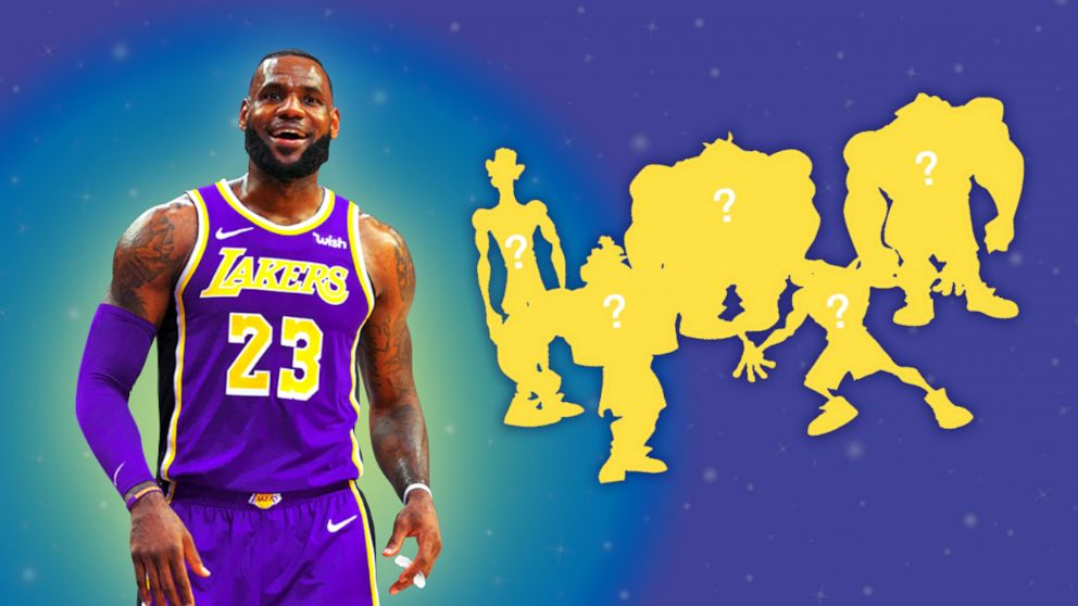 We Used Math To Help LeBron Cast 'Space Jam 2'