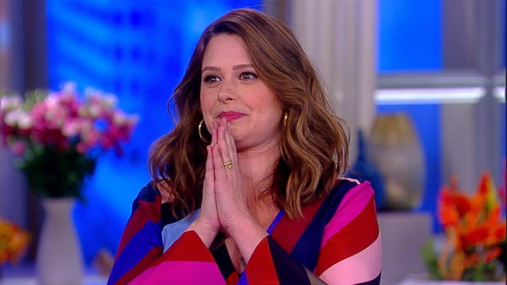 Scandal star katie lowes on new baby final season of show video buffering thecheapjerseys Image collections