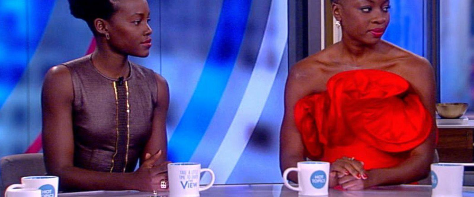 VIDEO: Lupita Nyong'o, Danai Gurira talk 'Black Panther' success