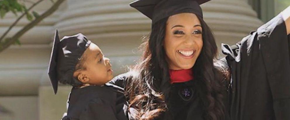 VIDEO: Harvard law grad talks childbirth, raising her daughter at school