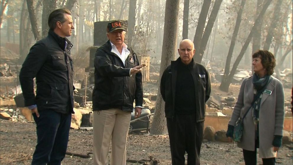 Trump suggests Finland doesn't have wildfire issues because of 'raking'