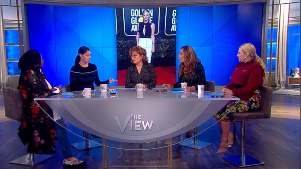 Glenn Close's inspiring message to women at the Golden Globes