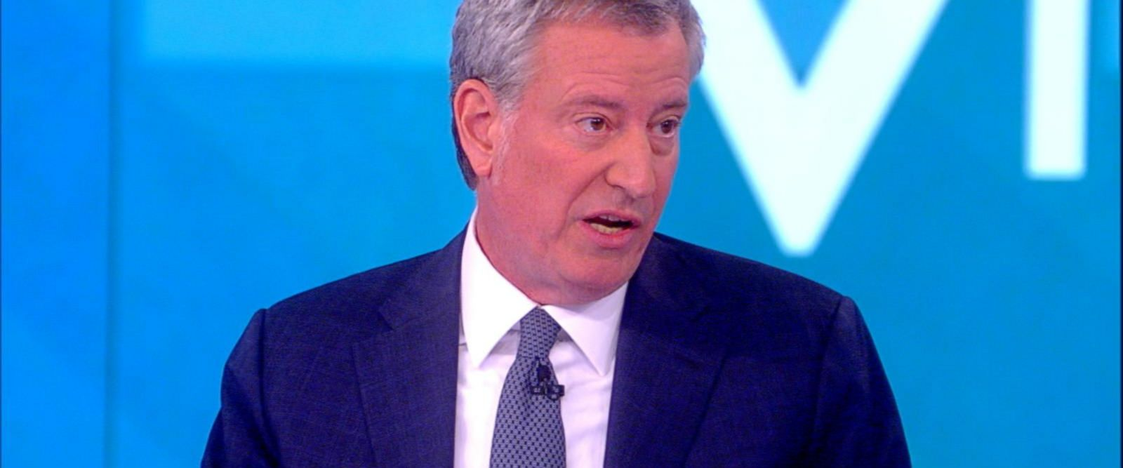 VIDEO: New York City Mayor Bill de Blasio explains his plan for free health care