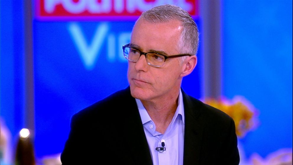 Andrew McCabe on President Trump's relationship with Russia