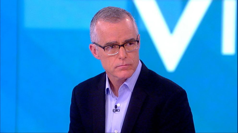 Andrew McCabe says he was 'absolutely not' a leaker to The New York Times