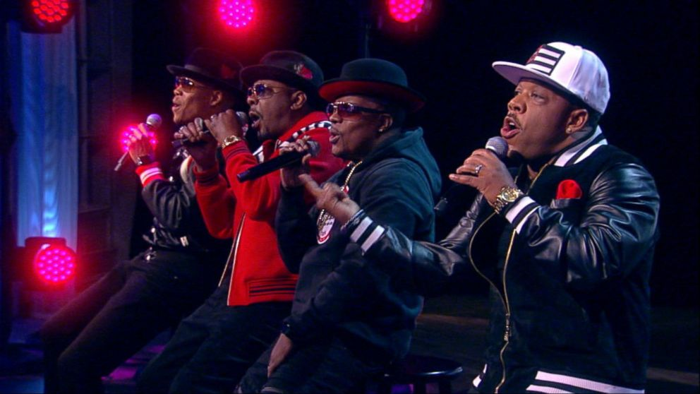 Former members of 'New Edition' perform a medley of their hits
