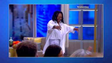 Whoopi Goldberg's doctor said she was 'gasping for air' the