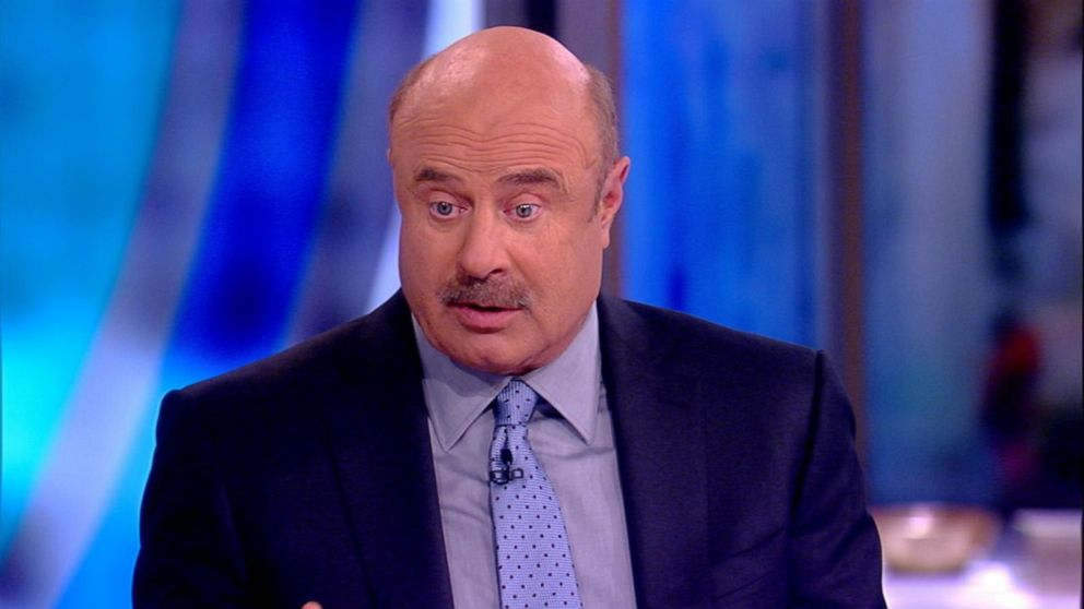 Dr  Phil says celebs are helping to change society's views on mental health