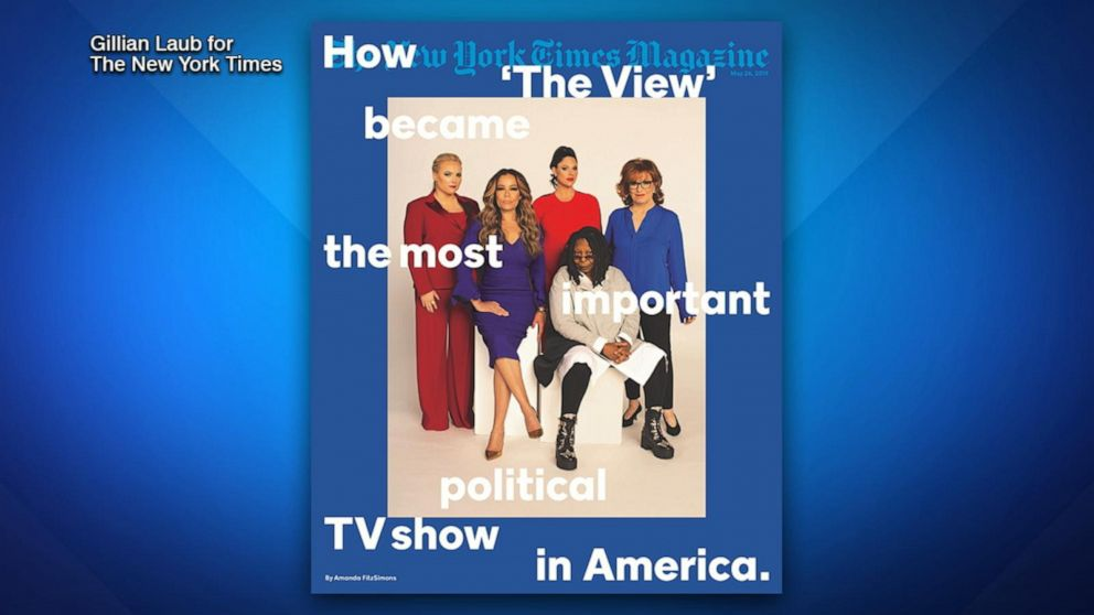The View Graces The New York Times Magazine Cover Video Abc News