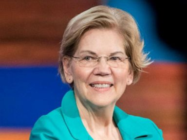 WATCH:  Warren leads in poll if this is discounted