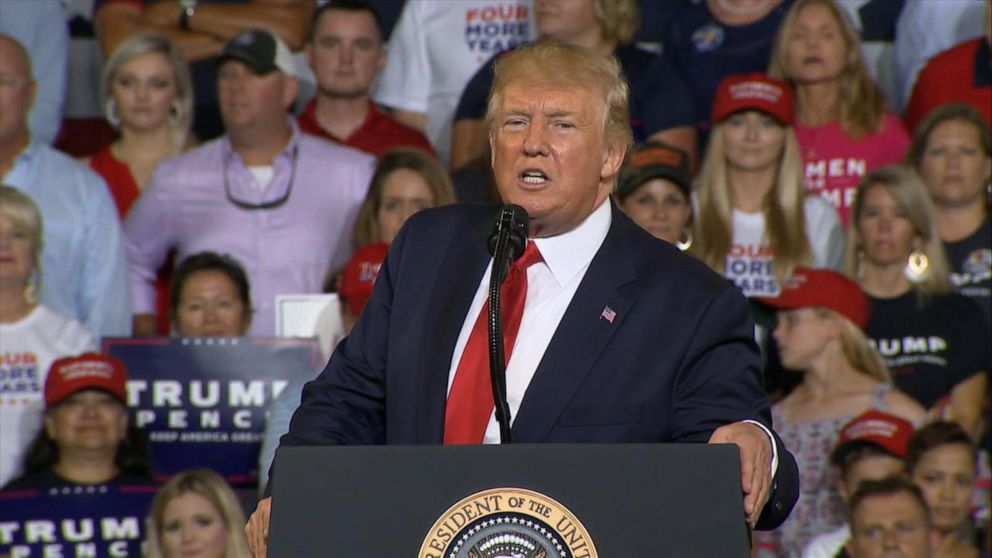 Outrage over Trump's 'send her back' rally chants