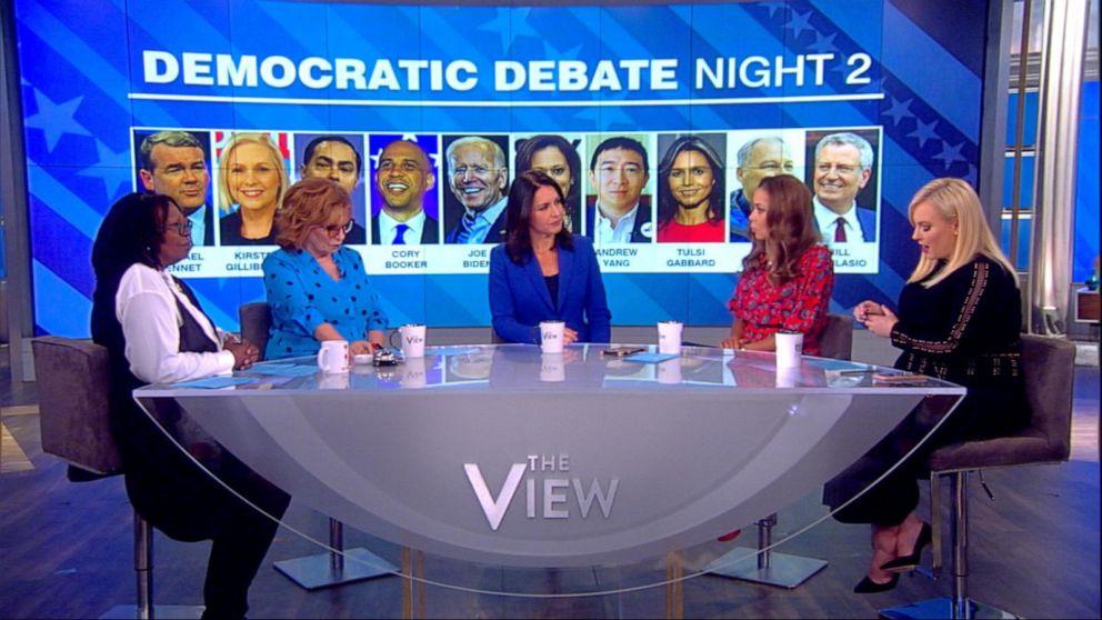 Rep. Tulsi Gabbard calls Harris' exchange with Biden at debate 'underhanded'