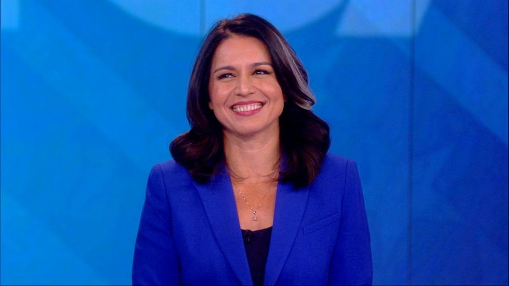 Rep. Tulsi Gabbard says Trump is 'inciting racism and bigotry' for 'political gain'
