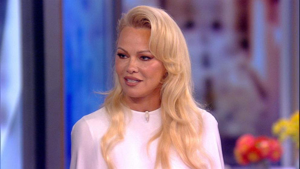 Pamela Anderson speaks out after split from French soccer star