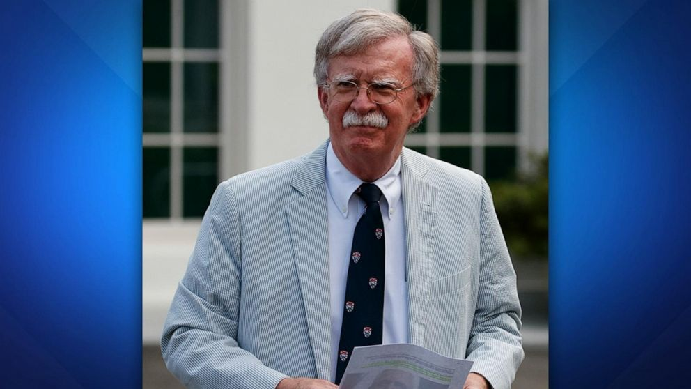 Trump says he split with 'Mr. Tough Guy' Bolton over 'very big mistakes'