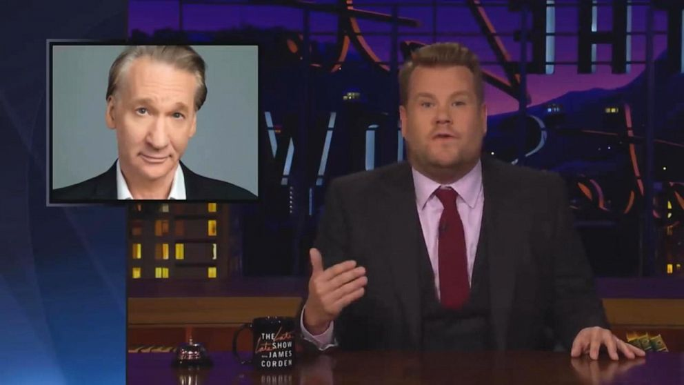 'The View' weighs in on James Corden, Bill Maher 'fat-shaming' comments
