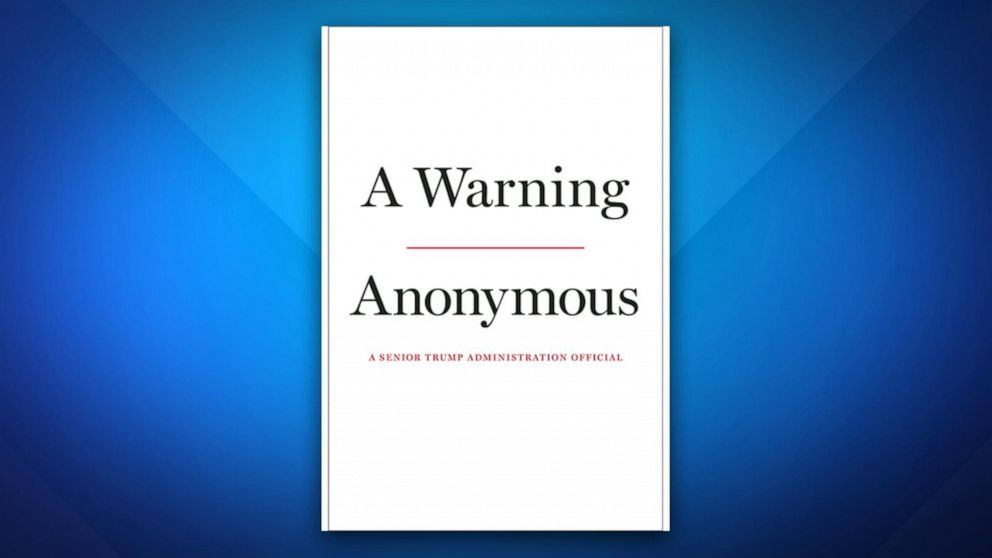 'Anonymous' book makes bombshell Trump claims