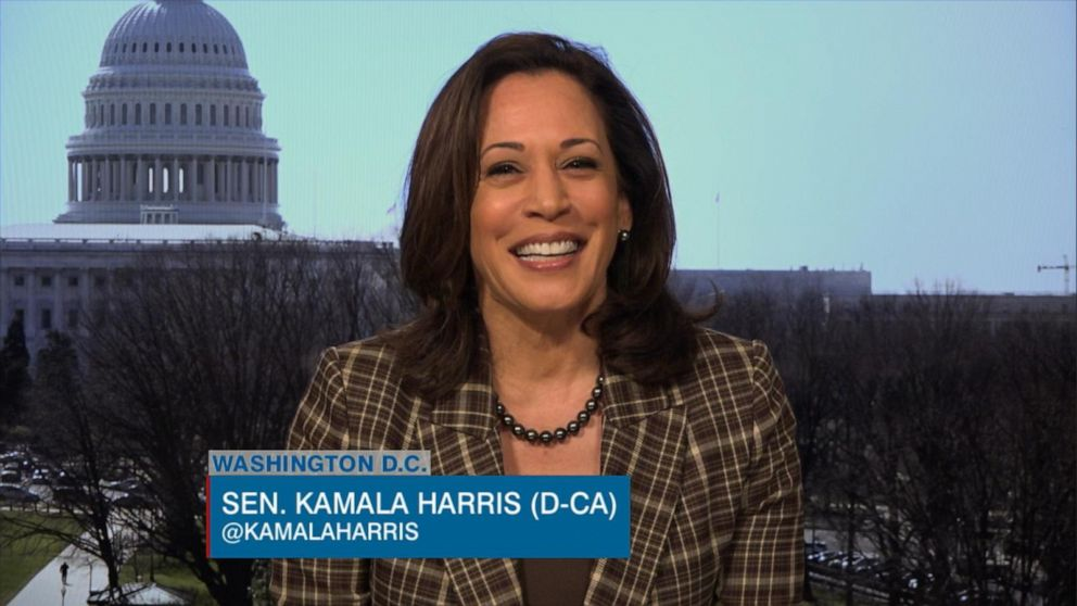 Sen Kamala Harris On The View The Buck Stops With Trump On Nation S Coronavirus Response Abc News