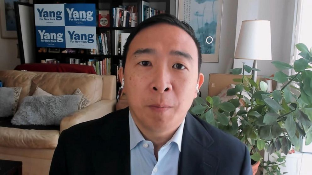 Andrew Yang address criticism from 2-bedroom apartment comment