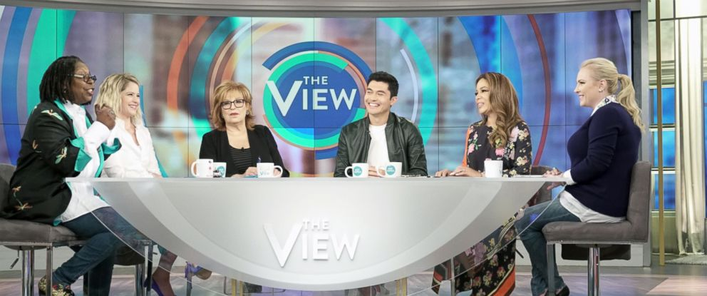 "PHOTO: Henry Golding joined ""The View"" to discuss his new film ""Crazy Rich Asians."""