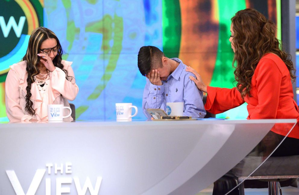 PHOTO: Jorge Garcia, an undocumented husband and father of two, and his family today spoke out on The View about his deportation to Mexico this week after living in the United States for 30 years.