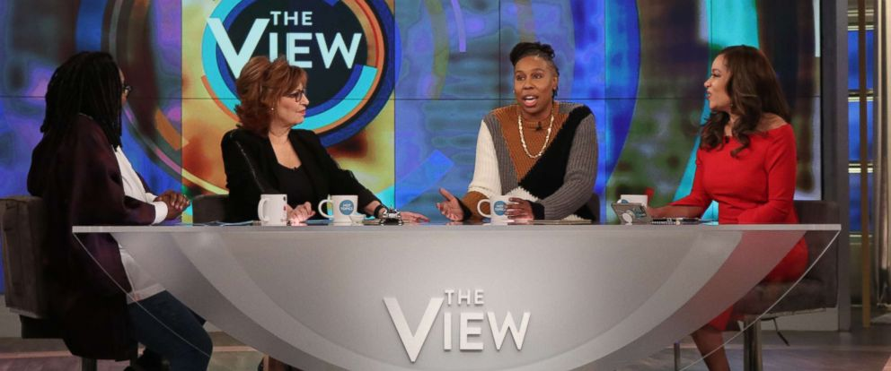 "PHOTO: Lena Waithe joins ""The View"", March 14, 2018, to discuss her latest projects and how shes challenging the status quo of Hollywood."