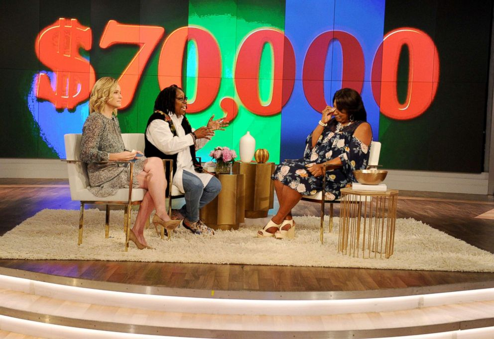 PHOTO: Letitia Conliffe appears on The View, June 12, 2018.