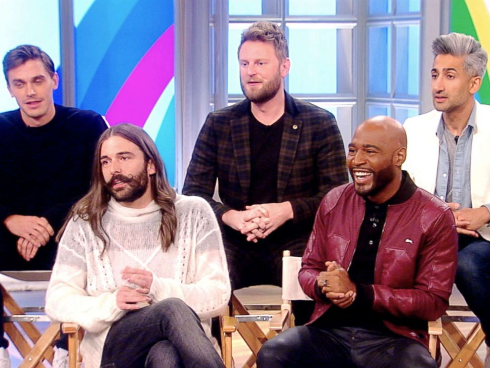 PHOTO: The hosts of Queer Eye appear on The View on Nov. 28, 2018.