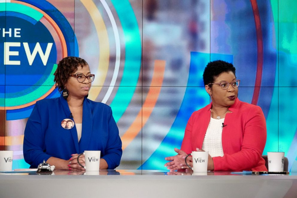PHOTO: Sandra Blands sisters Shante Needham and Sharon Cooper joined The View, Nov. 27, 2018, to discuss how the family is promoting awareness about her death in a new documentary.
