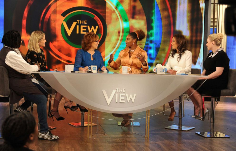 PHOTO: Serena Williams is the guest Tuesday, May 1, 2018 on ABCs The View.