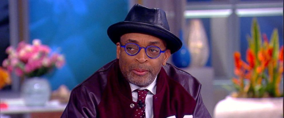 """PHOTO: Spike Lee appears on """"The View"""" to discuss his new music video for The Killers."""