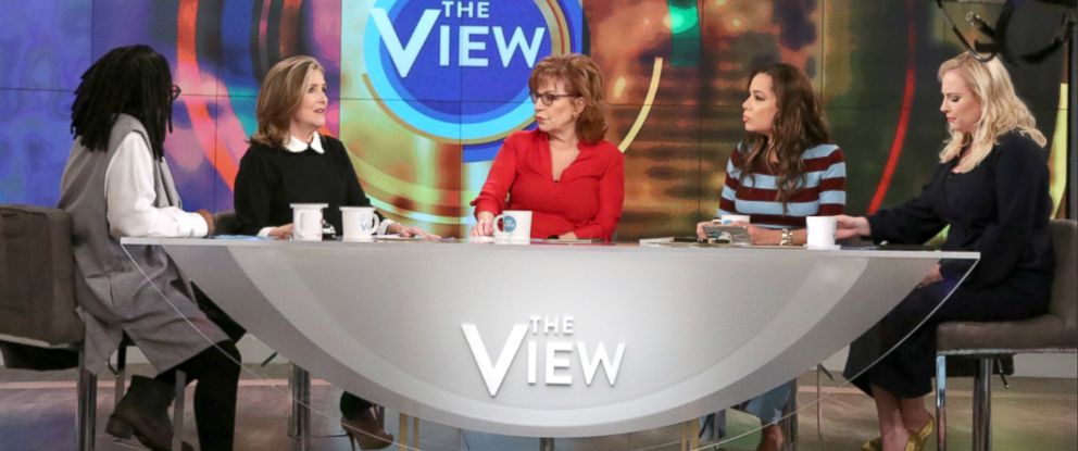 "PHOTO: Meghan McCain and Meredith Vieira announced on ""The View,"" Feb. 26, 2018, that they will go to an international conference on health care in Vatican City, to honor loved ones fight against disease."