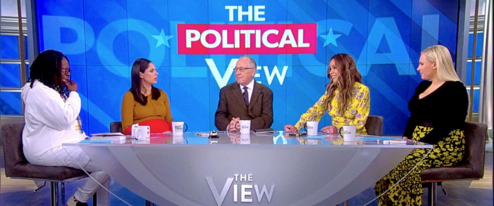 "PHOTO: Alan Dershowitz appears on ""The View,"" May, 2, 2019."